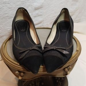 Coach Black Arlene III Pointed Heels